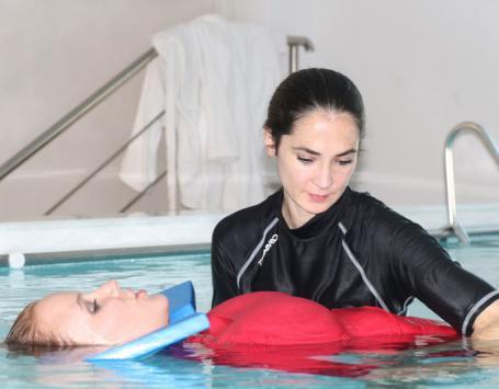Traitement des douleurs par l'eau Valbonne